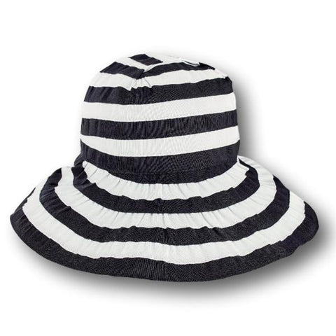 Striped Ribbon Hat