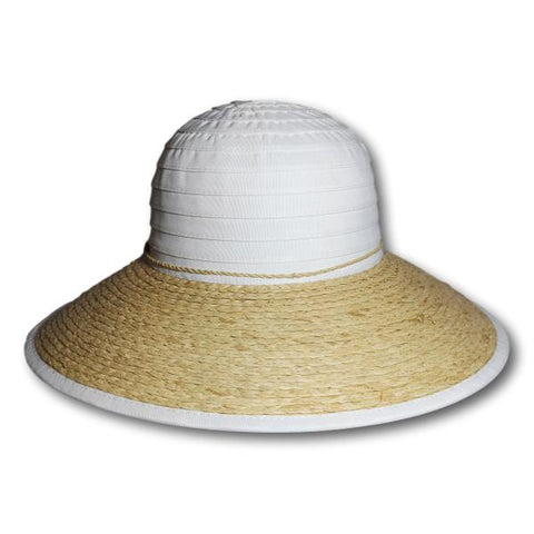 Ribbon Crown Sun Hat