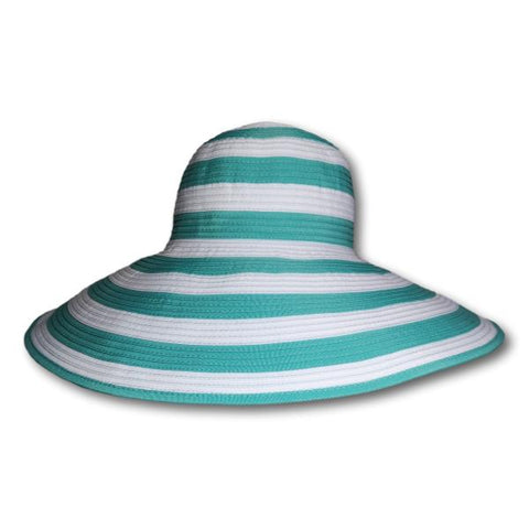 Striped Wide Brim
