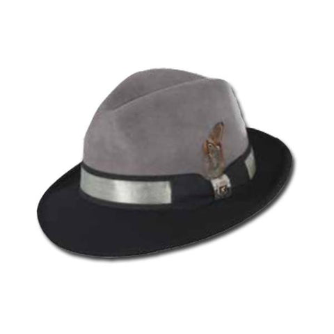 Metallic Band Fedora