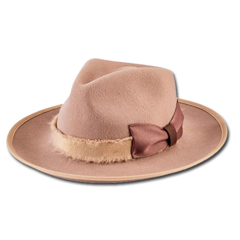 Frayed Band Fedora