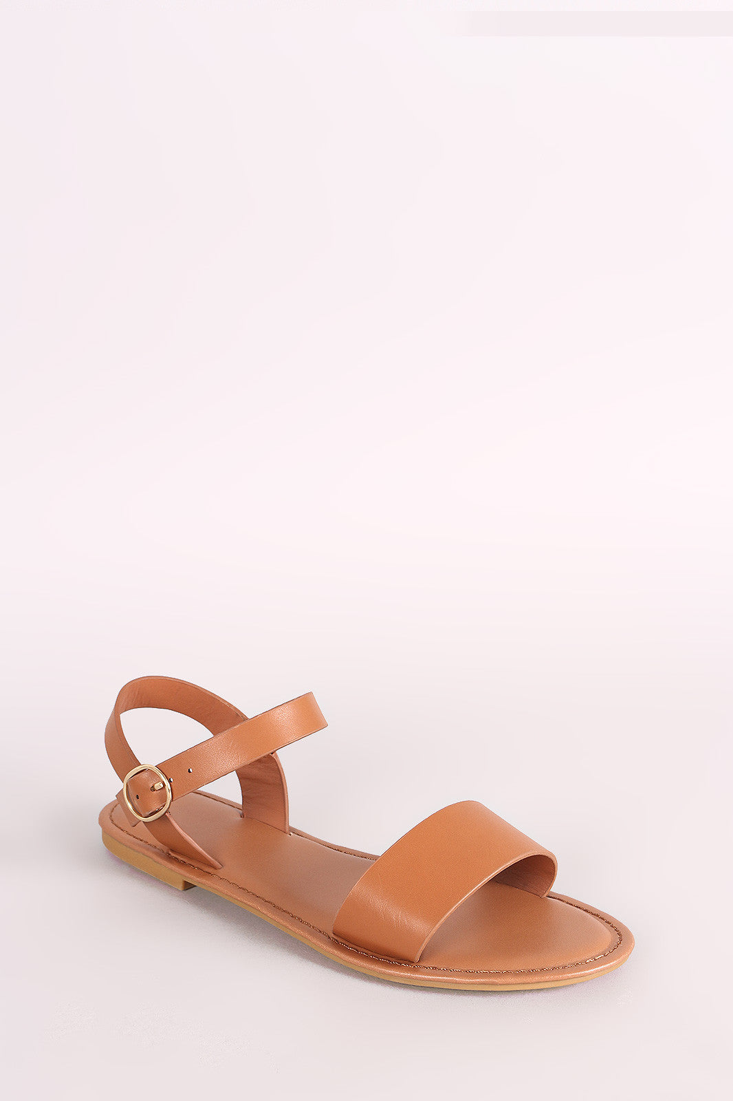 e8867d7fe Bamboo One Band Ankle Strap Flat Sandal