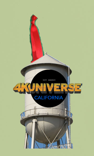 2021 4KUniverse Water Tower 3D Christmas Ornament