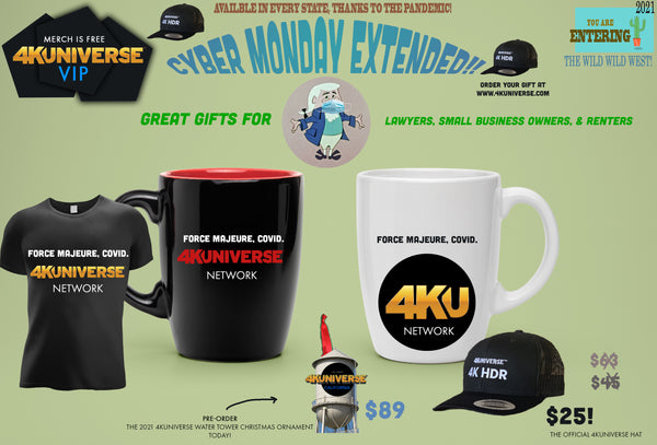 4KUniverse Extended Cyber Monday 'Force Majeure, COVID' bundle