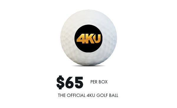 The Official 4KU Golf Ball