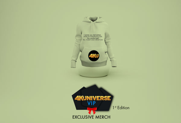 4KUniverse VIP Exclusive Merch. 1st Edition.