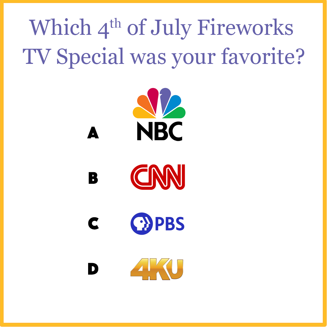 4KUniverse's 4th of July Fireworks TV Special