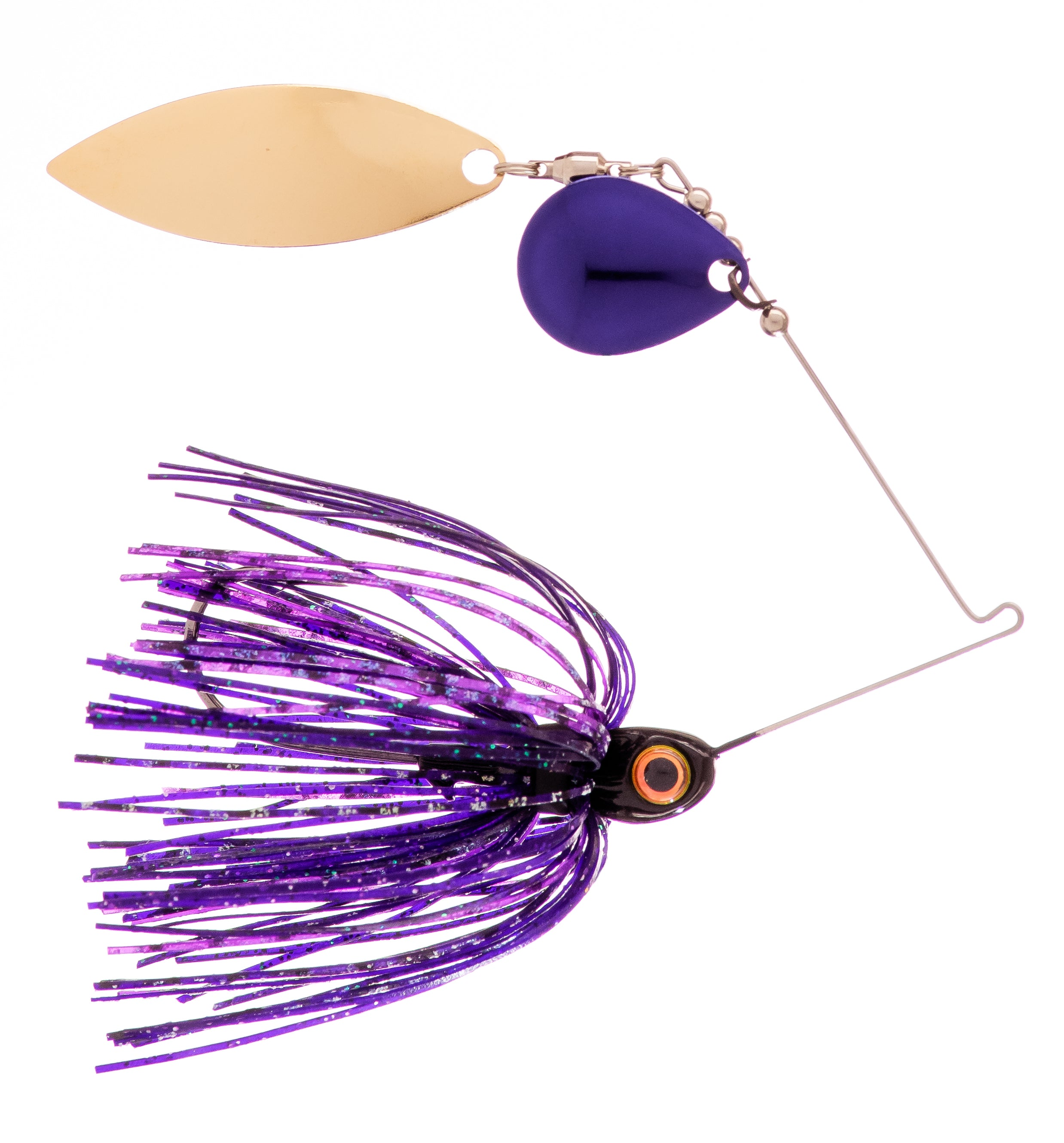3/8 oz Junebug Spinner Baits - Kajun Boss Outdoors