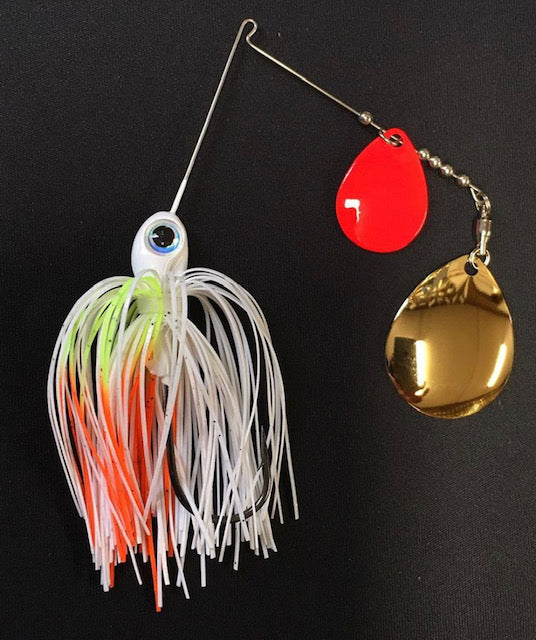 3/8 oz  Coleslaw  Spinner Baits - Kajun Boss Outdoors