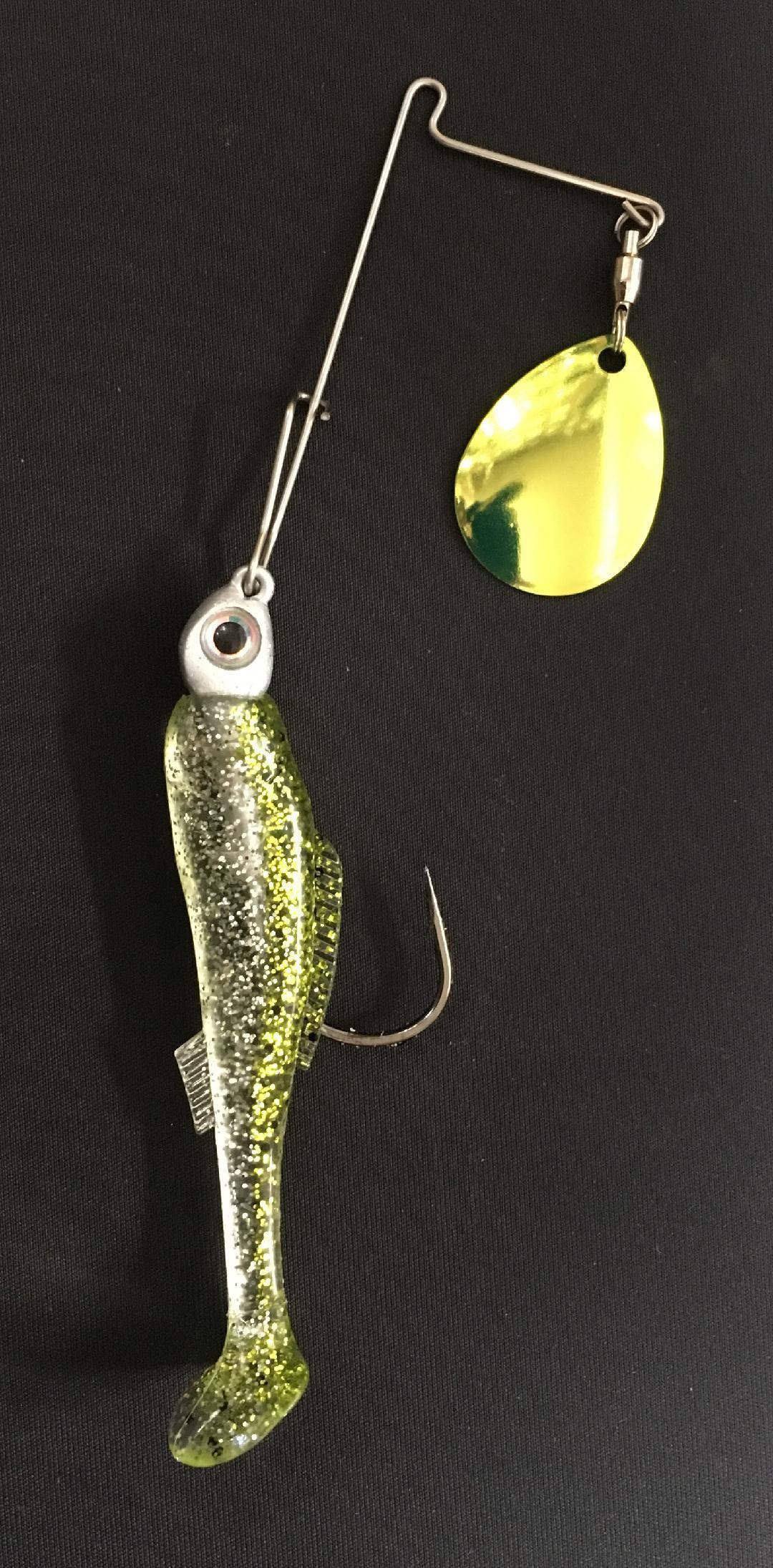 1/4 oz Chartreuse Ice - Kajun Boss Outdoors