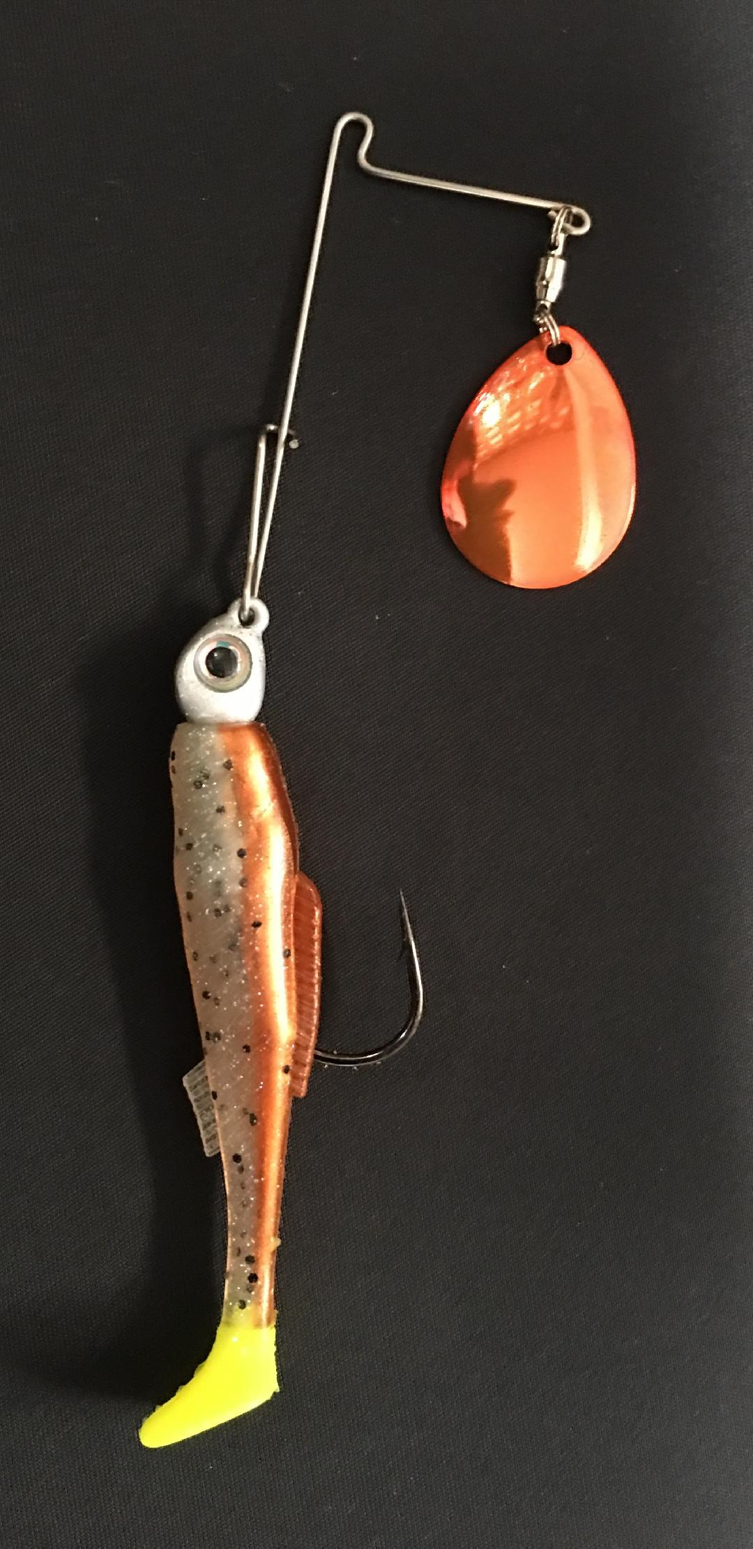 1/4 oz New Penny / Chart Tail - Kajun Boss Outdoors
