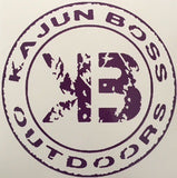 Purple decals - Kajun Boss Outdoors