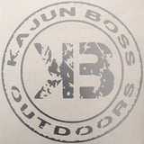 Silver decals - Kajun Boss Outdoors