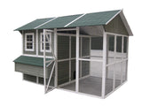 "Coops & Feathers  Extreme Chicken Barn 9'h x 11'8""w x 8'd item #220-03"