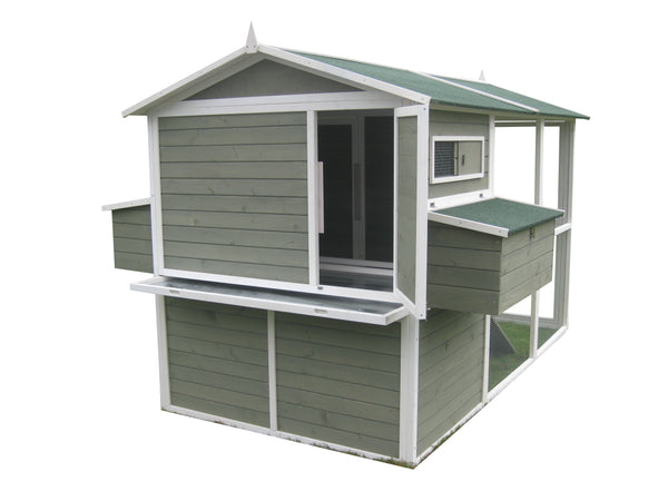 Coops & Feathers®  Extreme Walk-In Coop