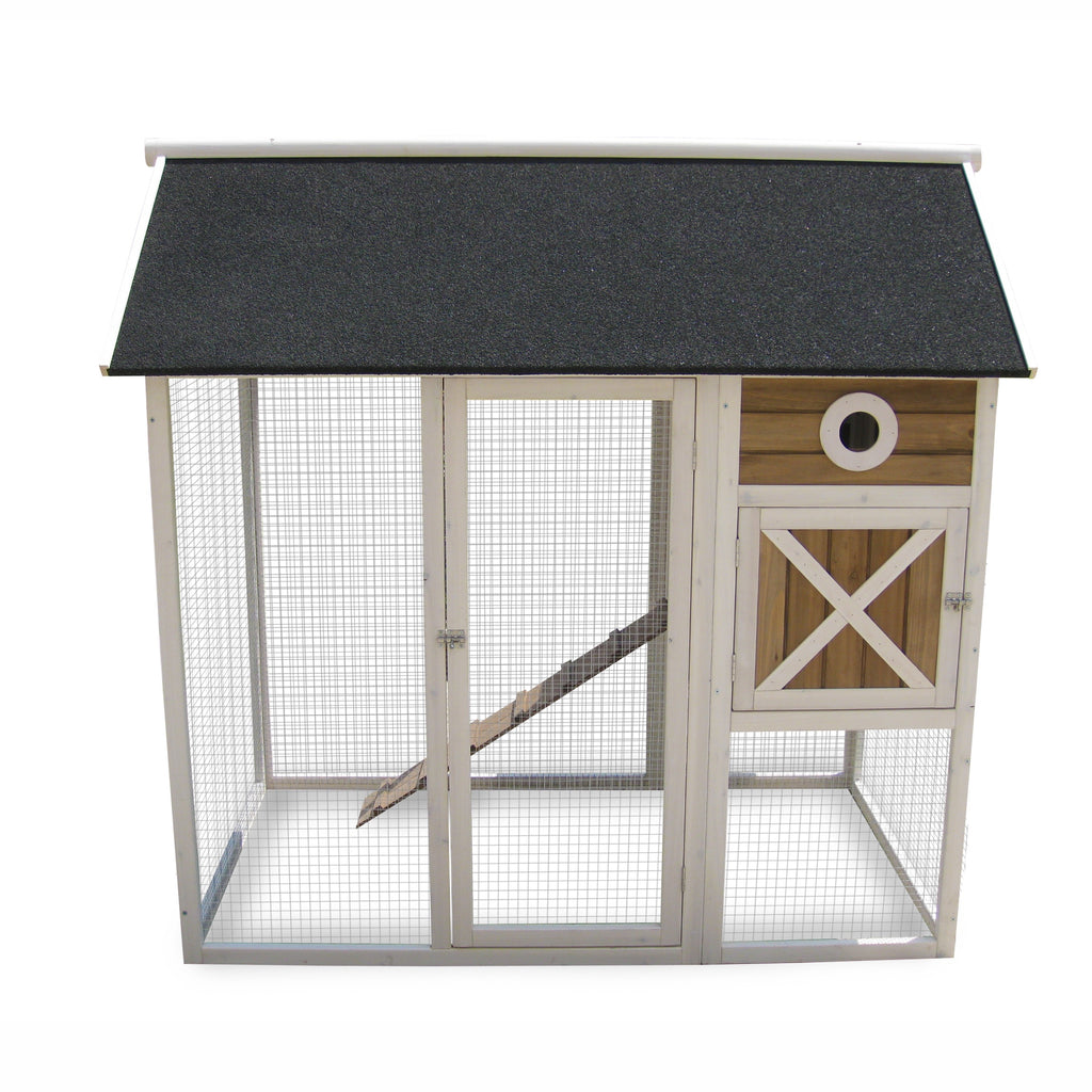 "Coops & Feathers®  Farm House Up to 4 Birds 59"" x 48.4"" x 55.4"" Item # 220-32"