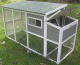 "Coops & Feathers™ Hen Coop 78""l x 30""w x 41""h Item #220-50"