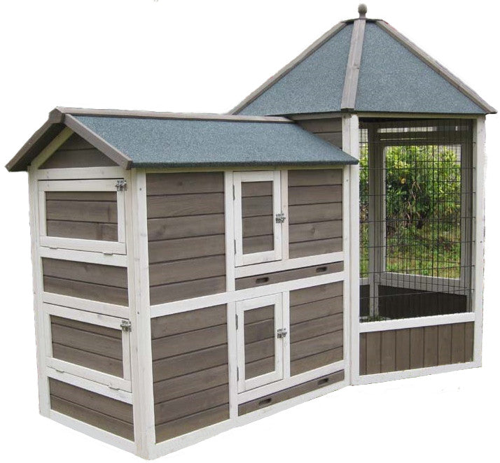 Coops & Feathers Gazebo Coop Medium Item #225-31