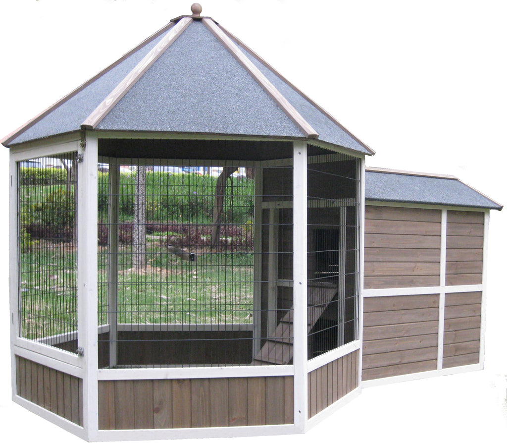 Coops & Feathers Gazebo Coop Large Item #225-65