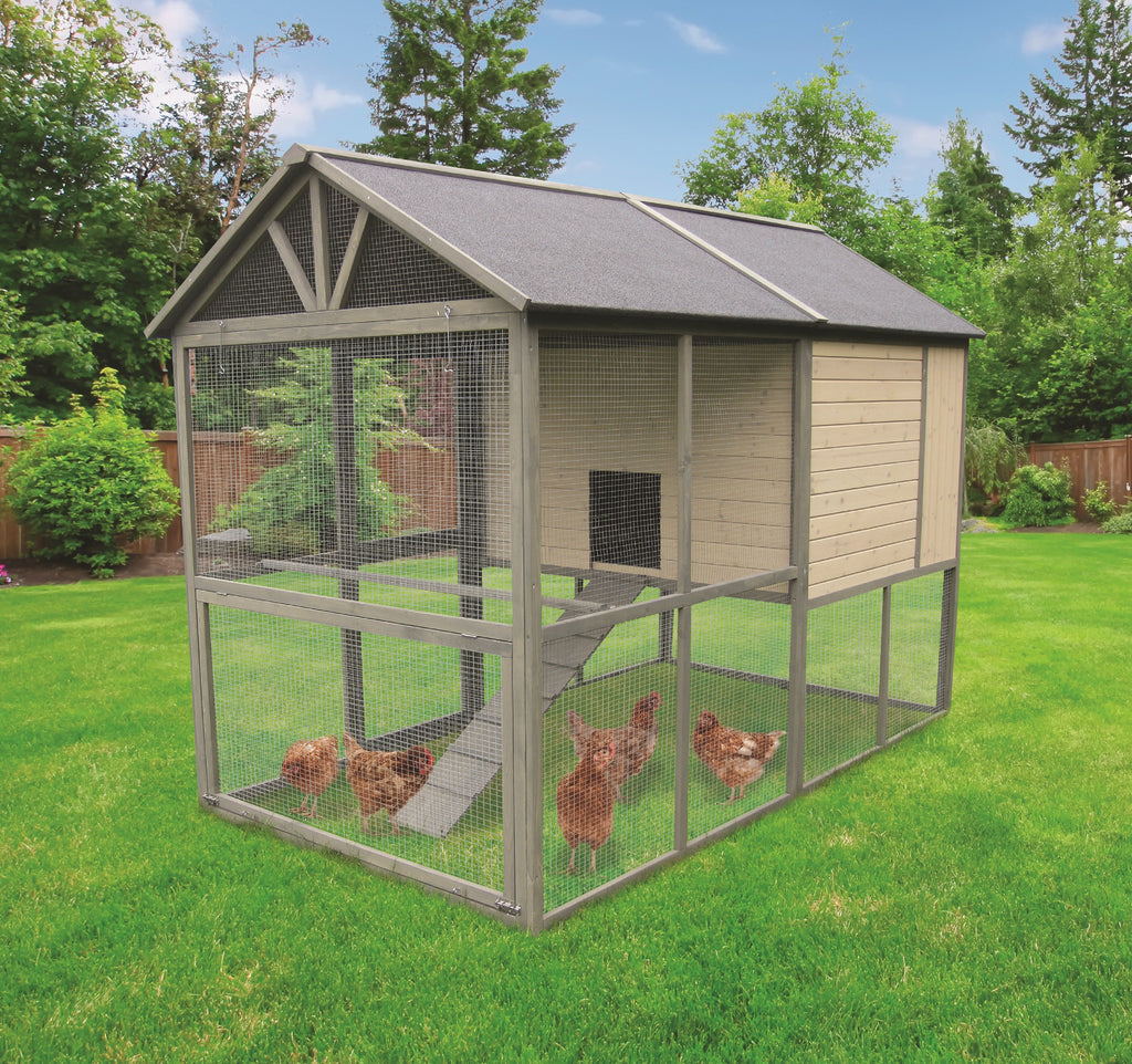 Coops & Feathers Walk-In Farm House XLarge 98x55x71 SKU 230-02