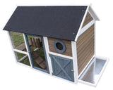 "Hutches & Cottontails Bunny Barn 3'7""h x 4'11""w x 2'11""d item #260-25"