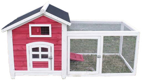 Hutches & Cottontails™ Little Red Rabbit Hutch Item #260-30