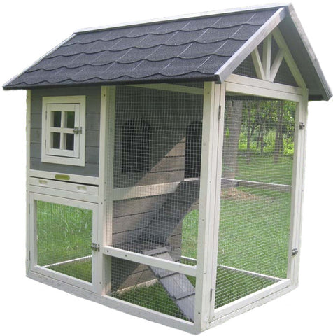Hutches & Cottontails™ Home Town Rabbit Hutch Item #260-35