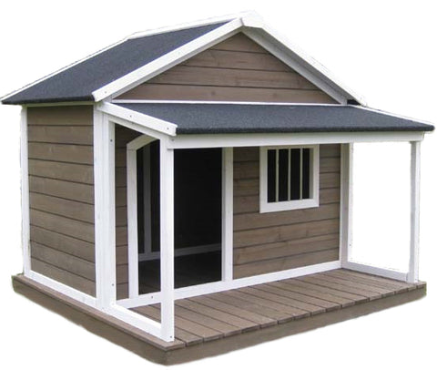 "Houses & Paws™ Home Town Pet House 51"" x 47"" x 43""   item #280-30"
