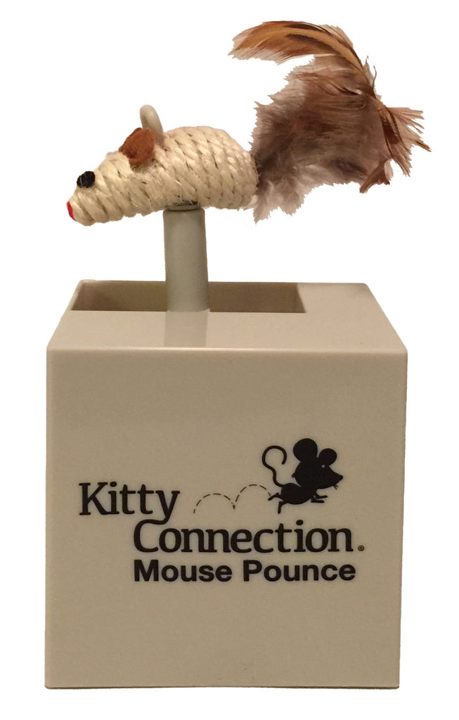 Kitty Connection Mouse Pounce, Sisal. Connects to Modular Sets Item #559-90