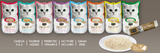 Kit Cat™ Tuna & Scallop Purr Puree Item #533-08