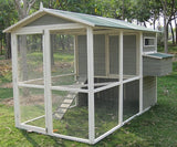 "Coops & Feathers™ Extreme Walk-In Coop 73""w x 110""d x 74""h Item #220-10"