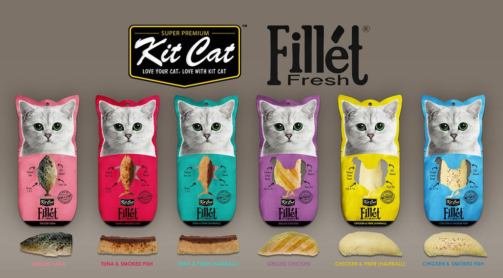 Kit Cat™ Fillet Fresh 30g Assortd #533-6PACKFF TRY ALL 6!