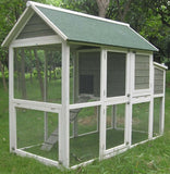 "Coops & Feathers™ Superior Hen House 35""w x 74""d x 57""h Item #220-35"