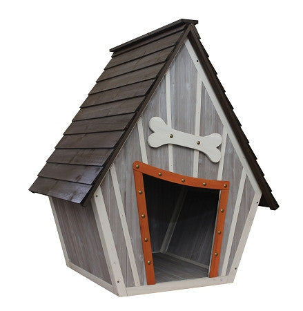 "Houses & Paws™ Whimsical Dog House 36""w x 30""d x 43""h Item #220-80"