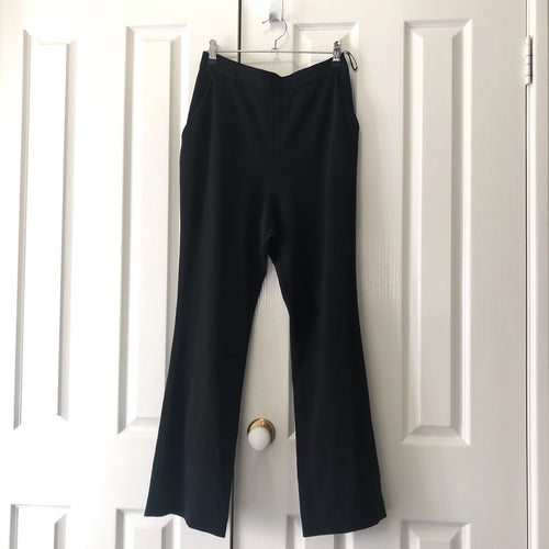 High waisted black trousers (Finders)