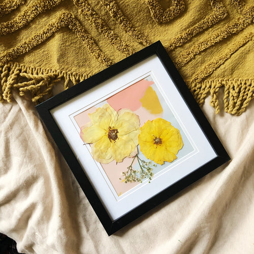 Yellow/Pastel Frame