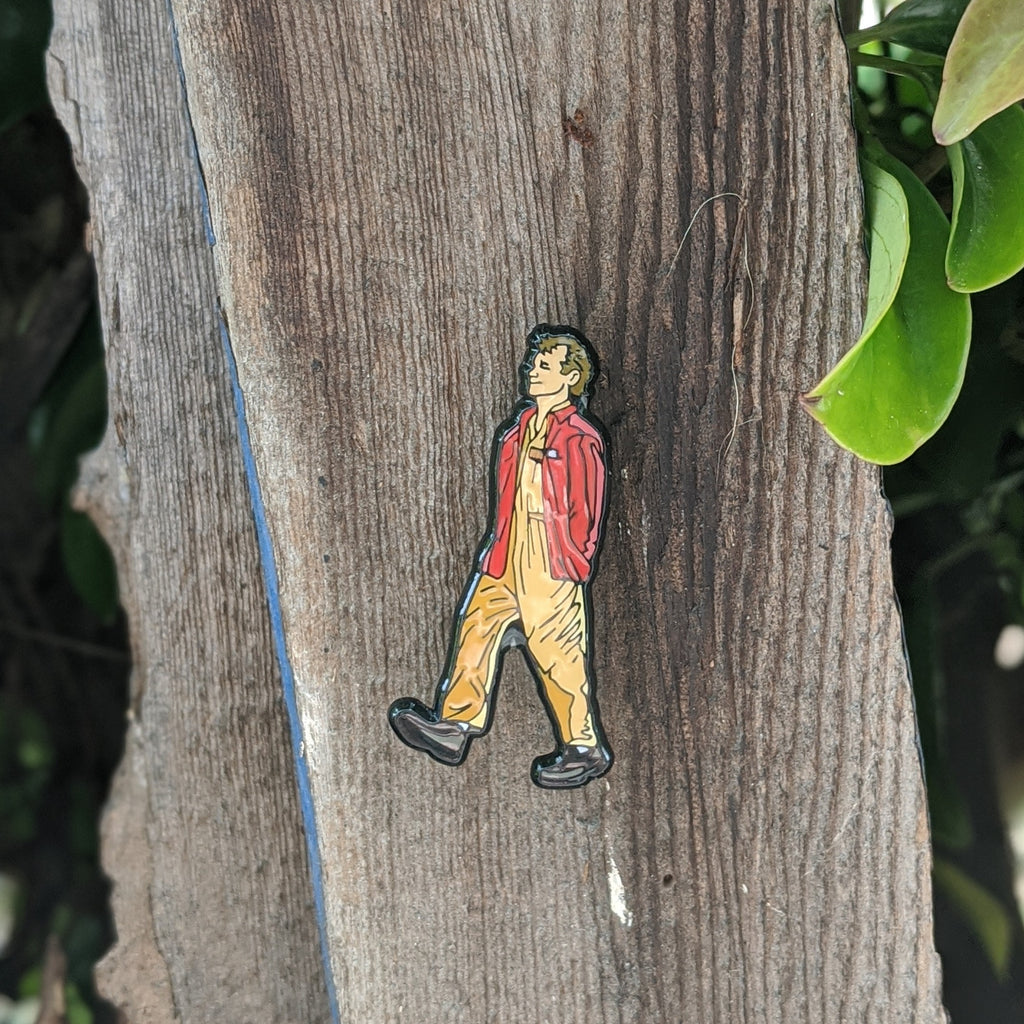 Ghostbusters Peter Venkman lapel pin