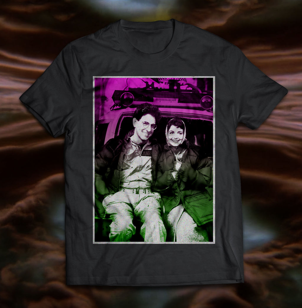 Pre-Order Ghostbusters Egon & Janine T-shirt