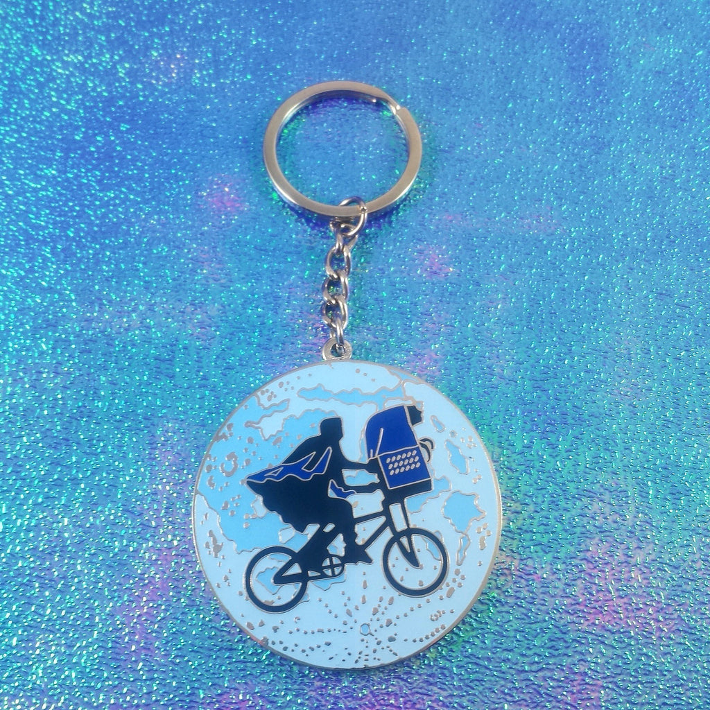 E.T. and Elliott - Keychain