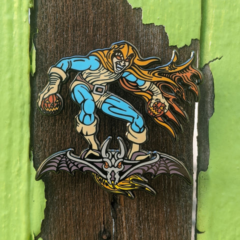 Hobgoblin lapel pin Spider-Man