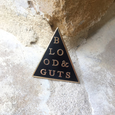 Blood & Guts Lapel Pin