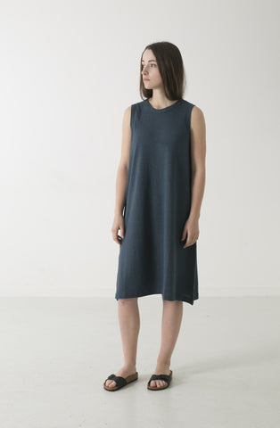 HEMP JERSEY ALINE TANK DRESS