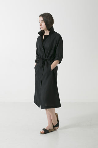 WOMENS HEMP LINEN DUSTER TRENCH