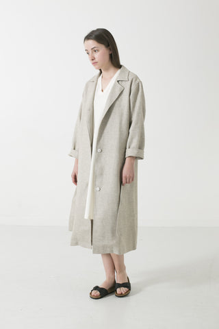 WOMENS LTD EDTN HEMP/YAK/WOOL TWEED DUSTER
