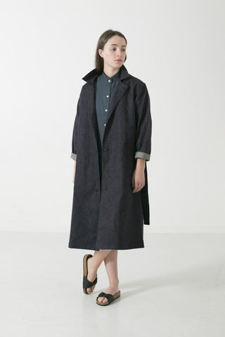 HEMP DENIM DUSTER