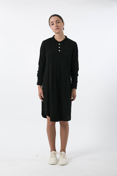 AUSTRALIAN MERINO BUTTON DOWN DRESS