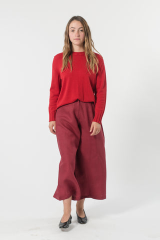 ZERO WASTE AUSTRALIAN WOOL CREW NECK JUMPER