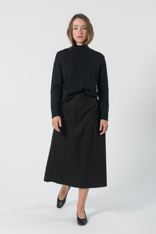 ZERO WASTE AUSTRALIAN WOOL HIGH NECK JUMPER