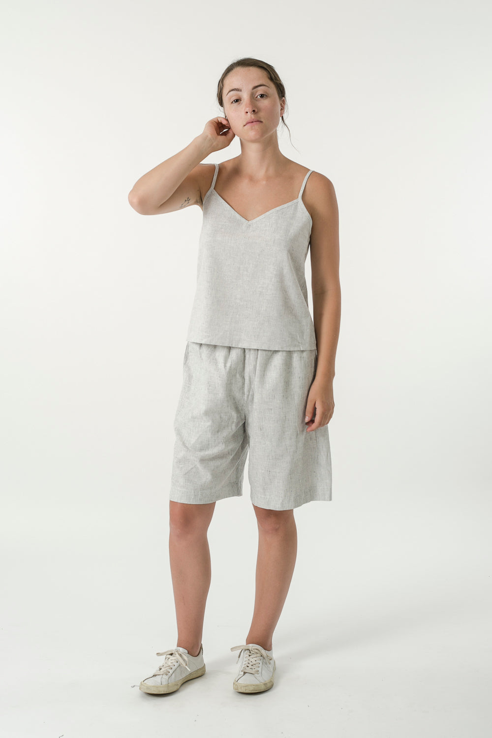 UNISEX HEMP LINEN BOARD SHORTS