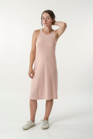 HEMP JERSEY RACER TANK DRESS